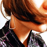 Fanfan Textile Earrings