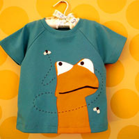 Felix. Applique Raglan Shirt