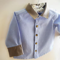 Little Boss. Baby Dress Shirt